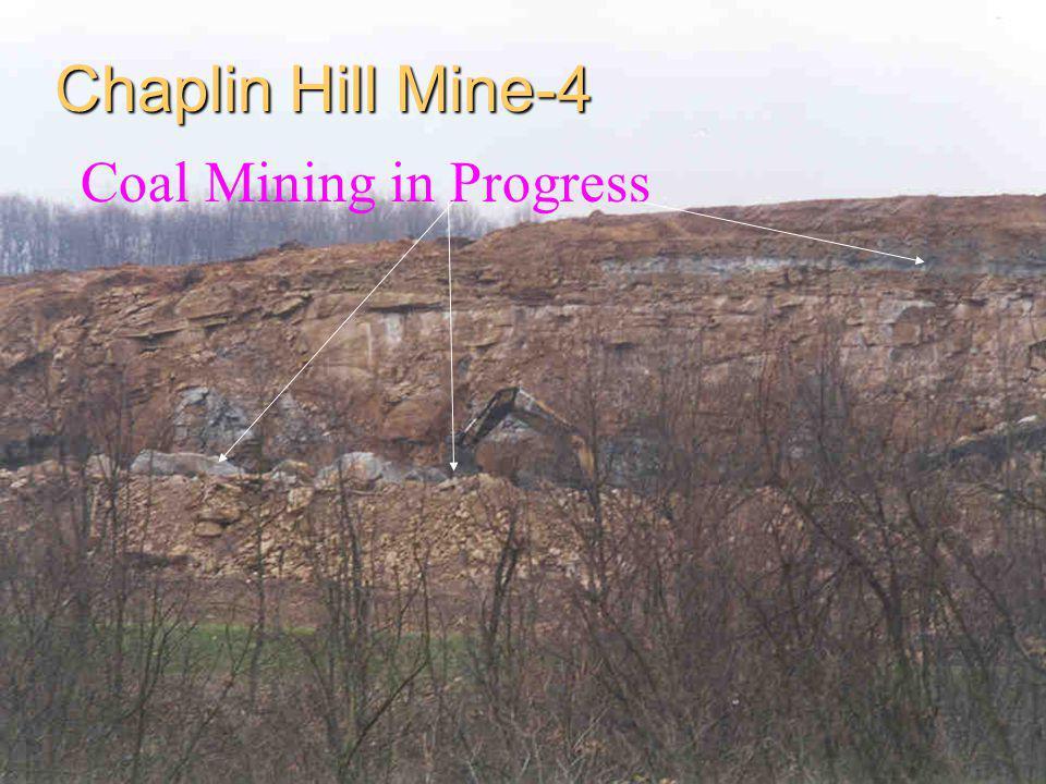 Chaplin Hill Mine-4 Coal Mining in Progress
