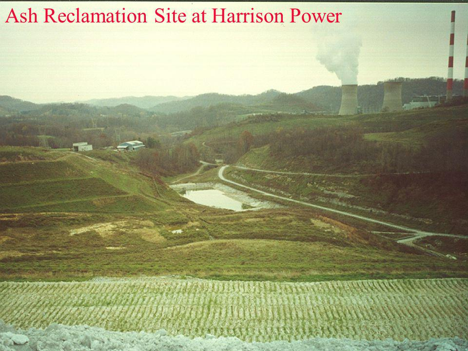 Ash Reclamation Site at Harrison Power