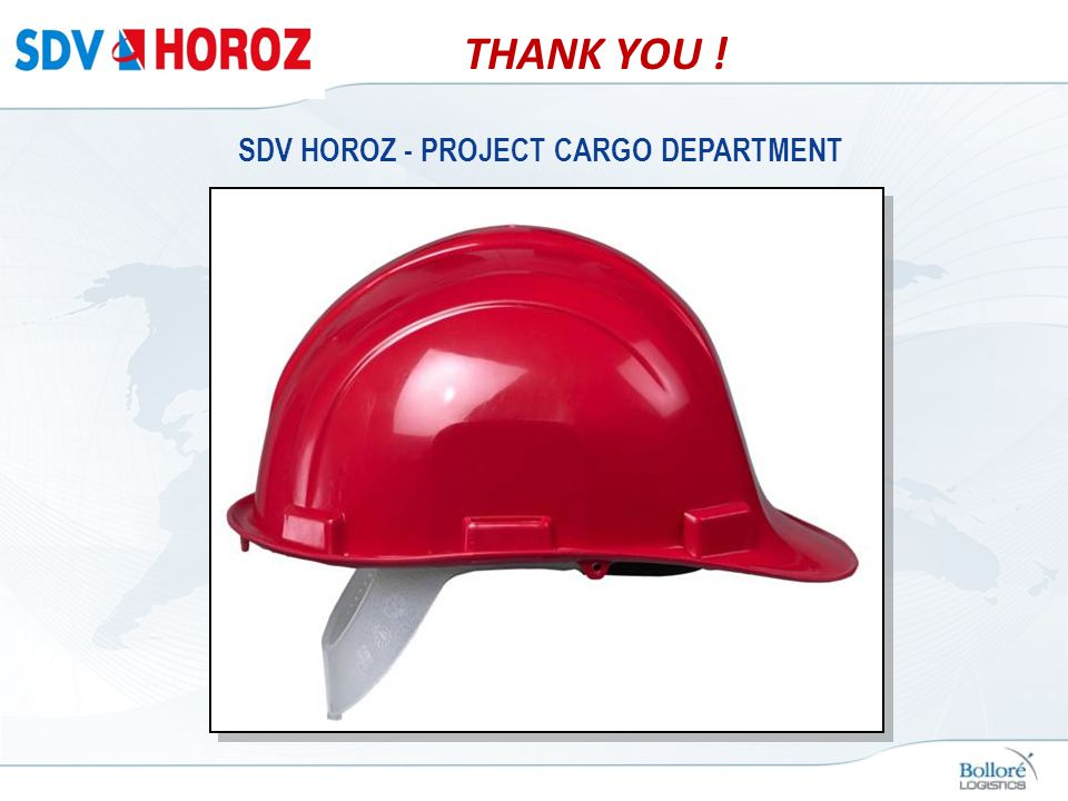 SDV HOROZ - PROJECT CARGO DEPARTMENT