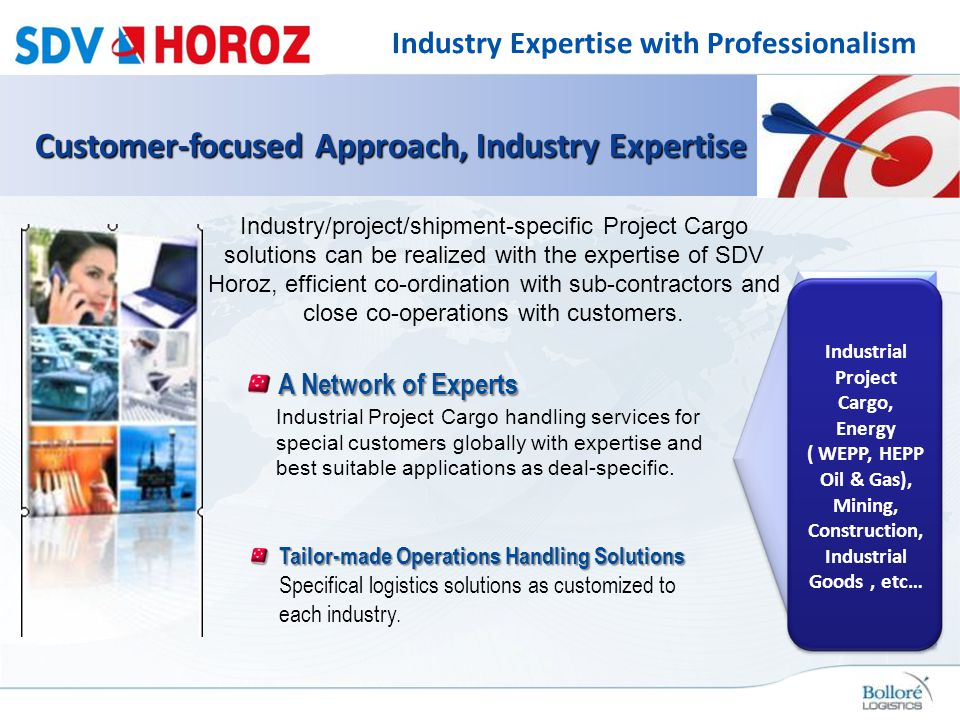 Industry Expertise with Professionalism
