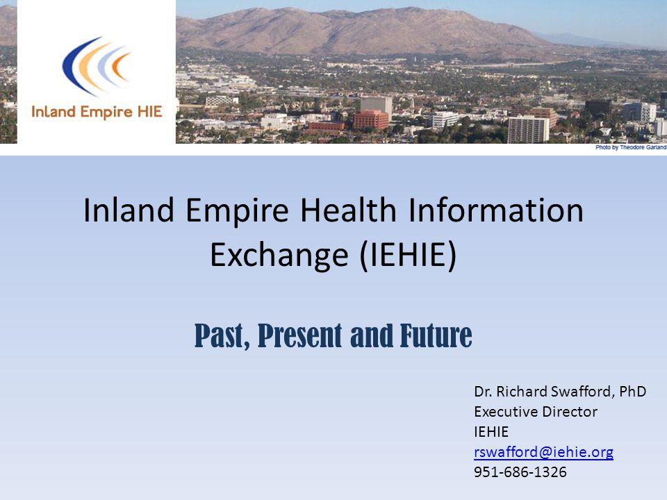 Inland Empire Health Information Exchange (IEHIE)