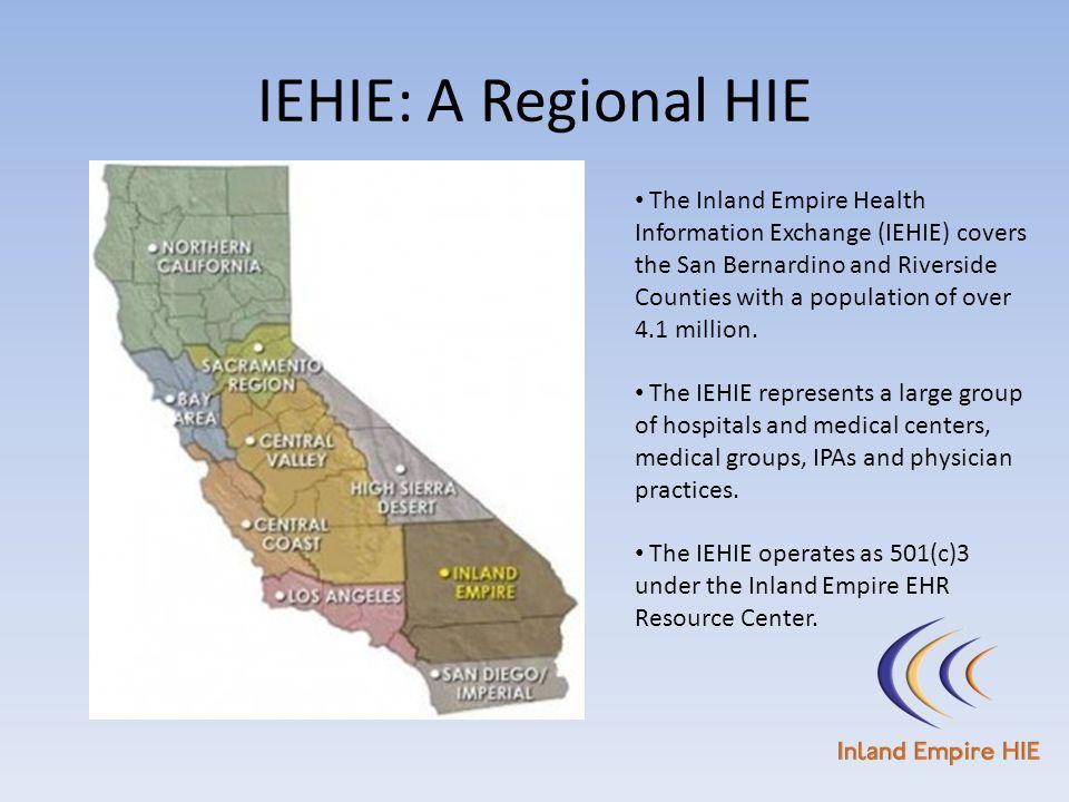 IEHIE: A Regional HIE