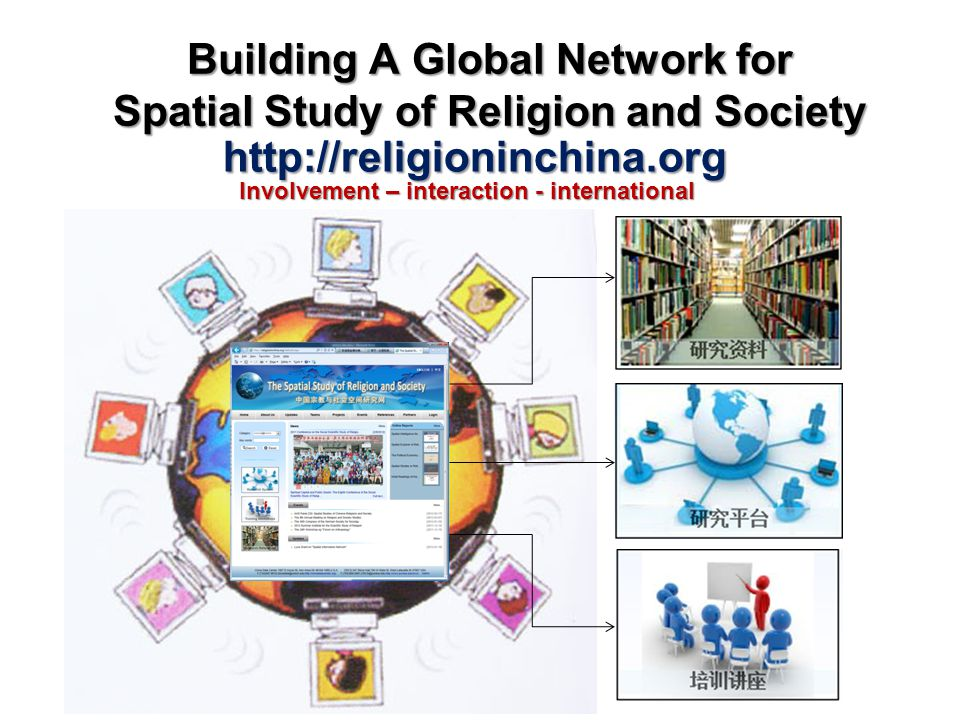 Building A Global Network for Spatial Study of Religion and Society