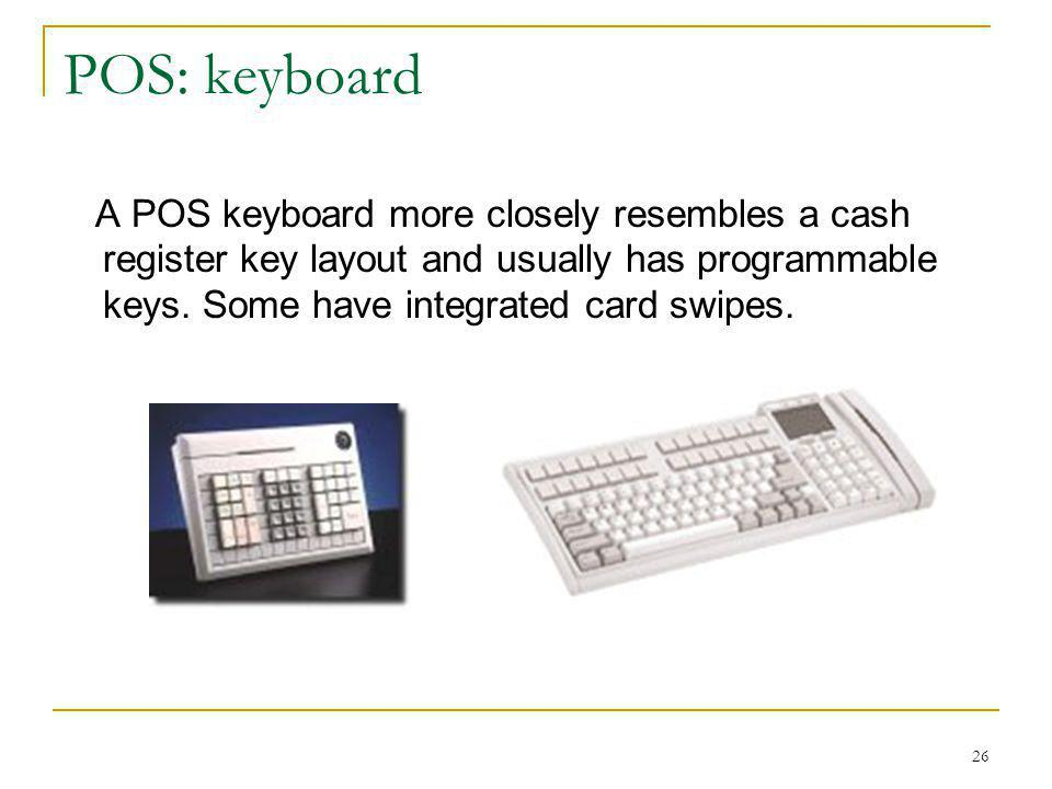 Introduction to computerized point of sale pos ppt for Cash register keyboard template