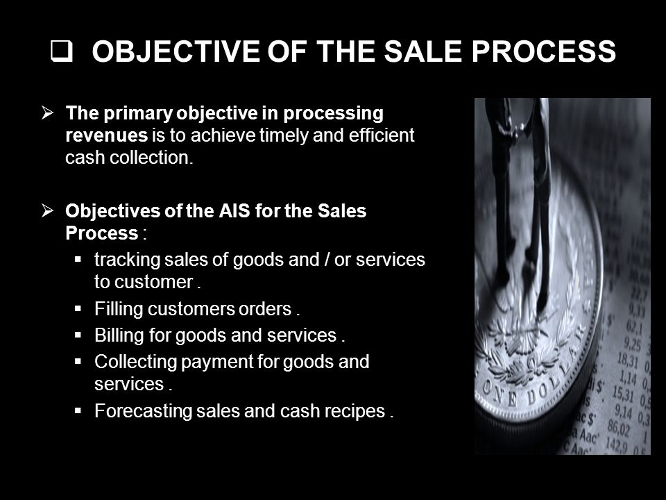 OBJECTIVE OF THE SALE PROCESS