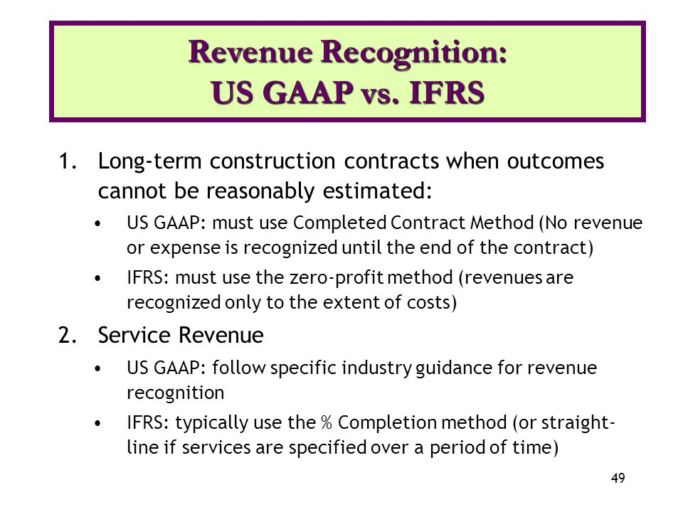 long term debt gaap v ifrs Long-term debt u s gaap vs ifrs scott bailey acc 311 debruine every company in the world must raise funds in order to finance its operations and expansion the most common form of this funding is through the use of long-term debt.