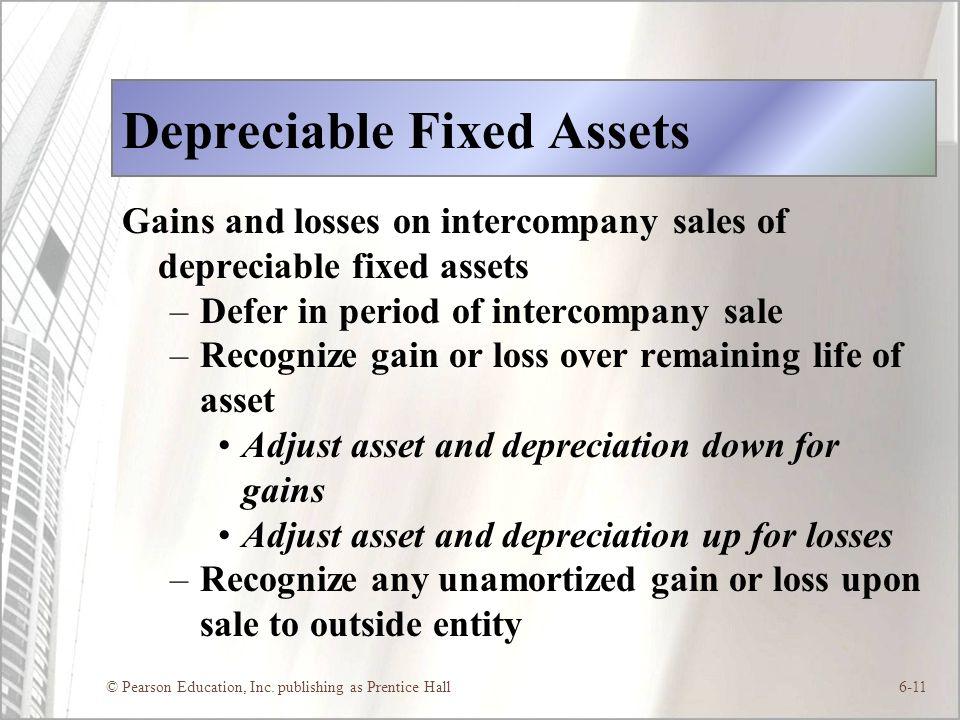 Depreciable Fixed Assets