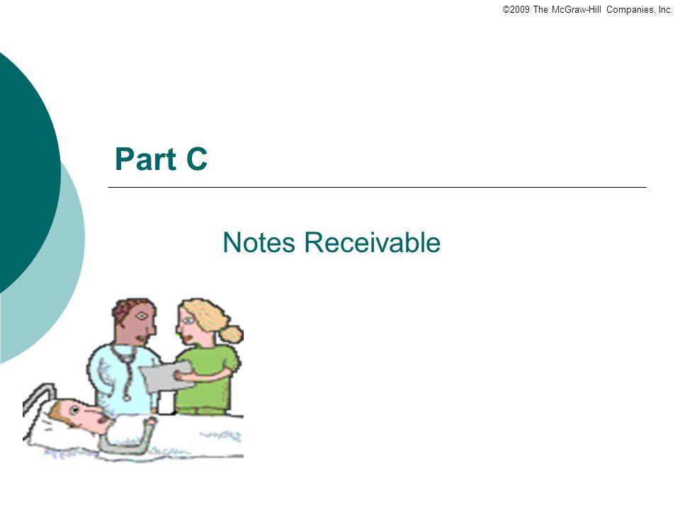 Part C Notes Receivable