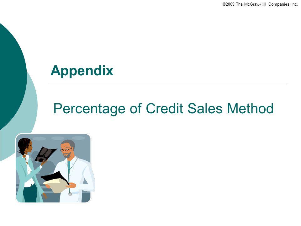 Percentage of Credit Sales Method