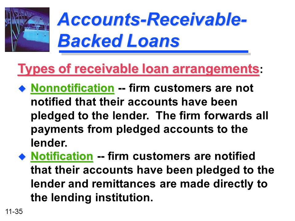 Accounts-Receivable-Backed Loans
