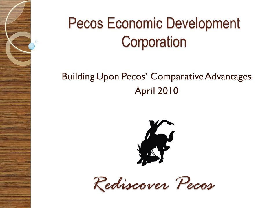 Pecos Economic Development Corporation