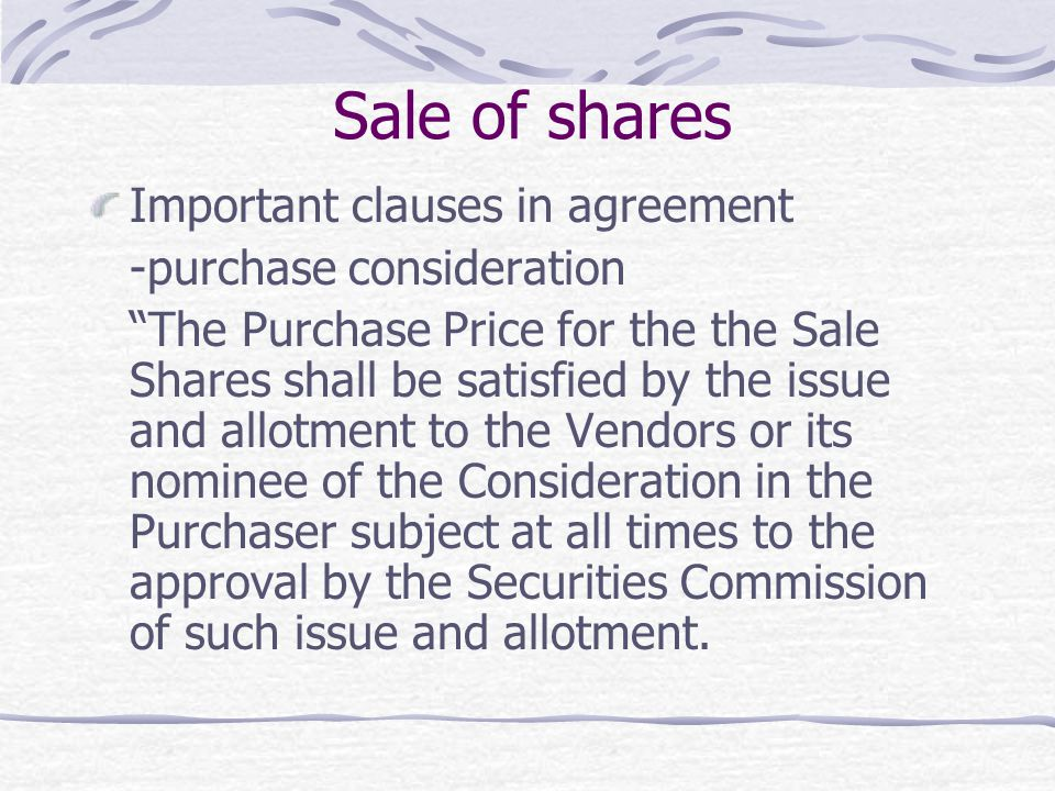 Understanding Commercial Agreements-Loans, Sale of Shares, Joint Ventures Agreement By : LEE ...