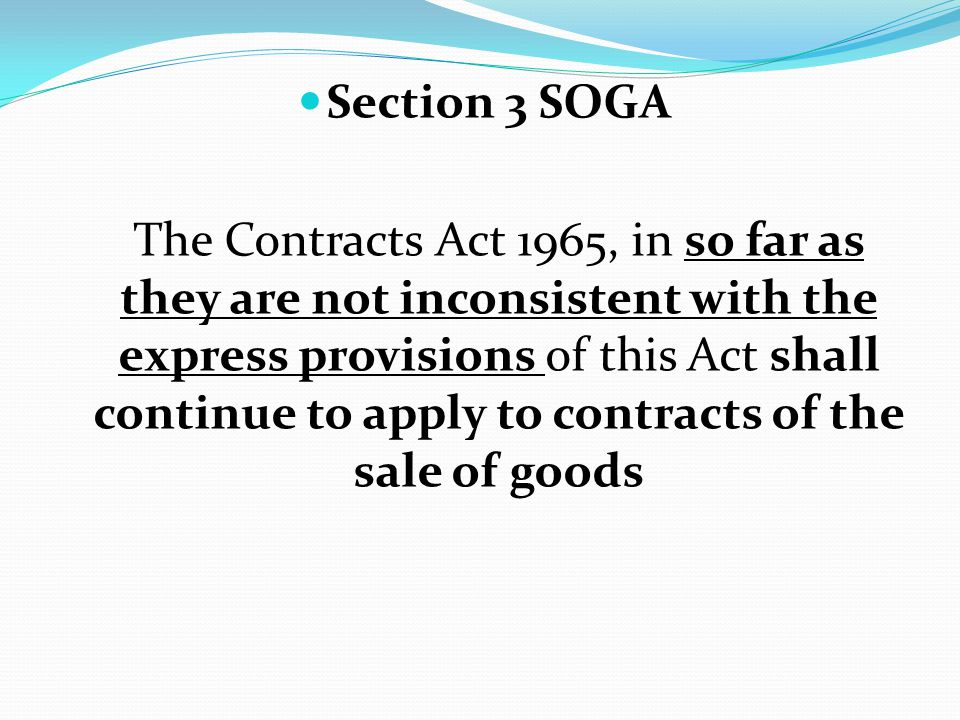 Section 3 SOGA