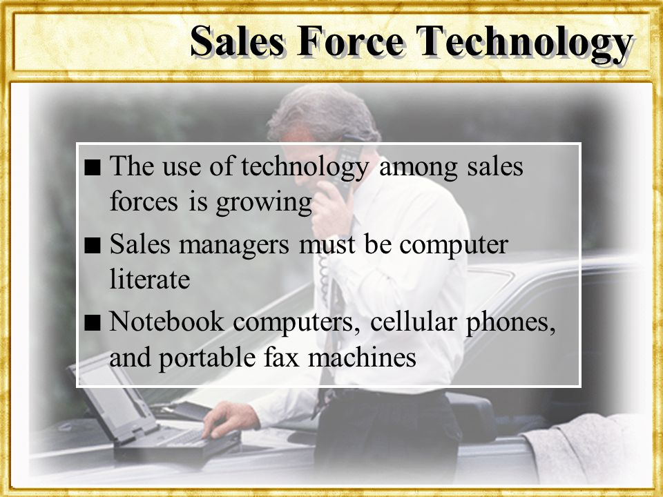 Sales Force Technology
