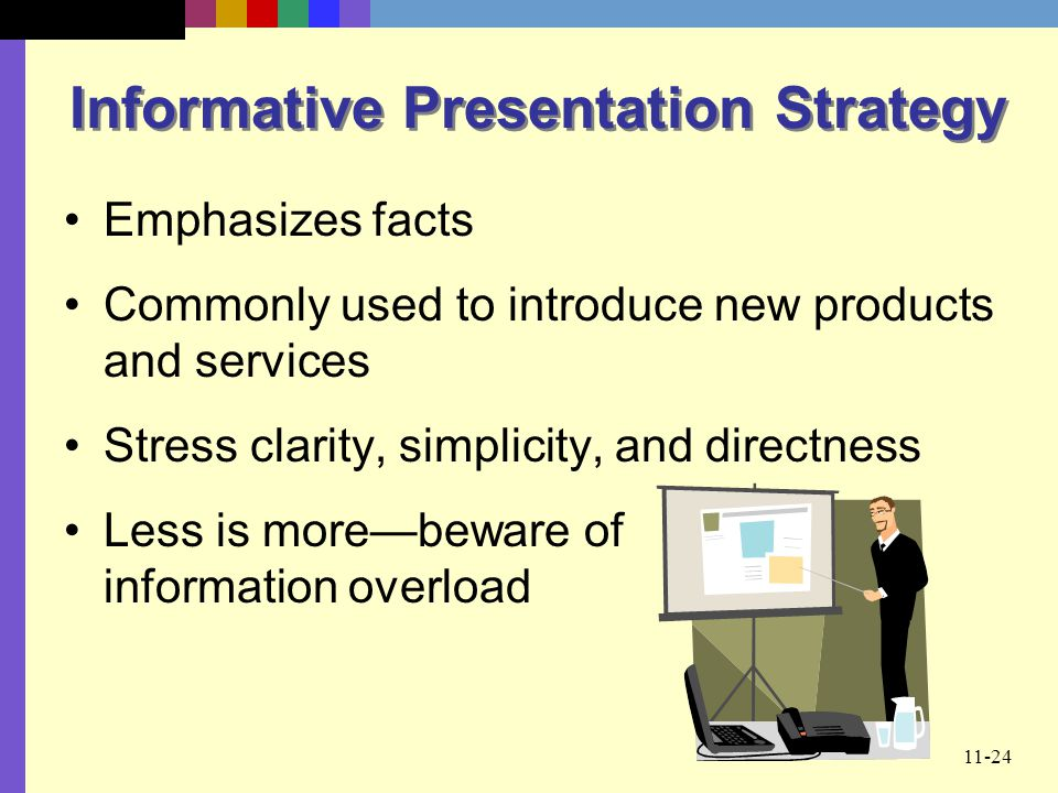 Informative Presentation Strategy