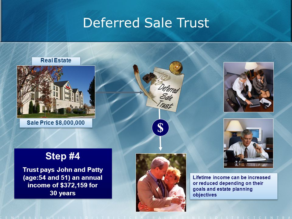 Deferred Sale Trust $ Step #4