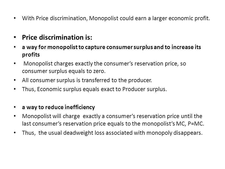 Price discrimination is: