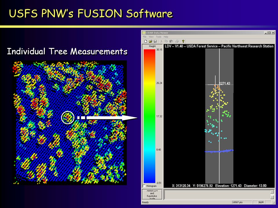 USFS PNW's FUSION Software