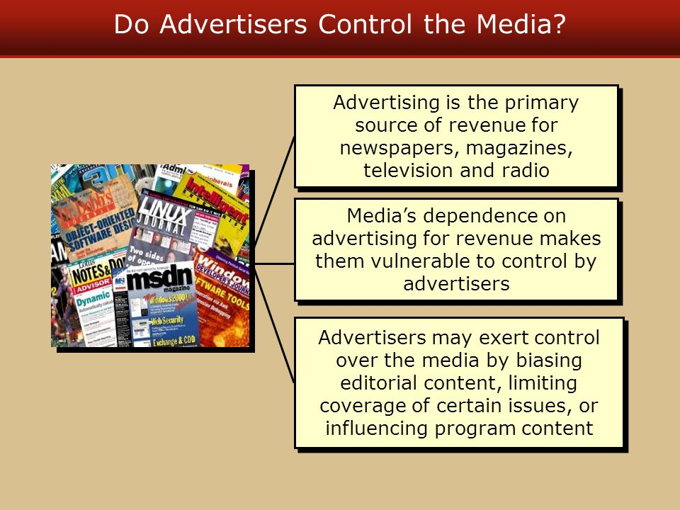 Do Advertisers Control the Media