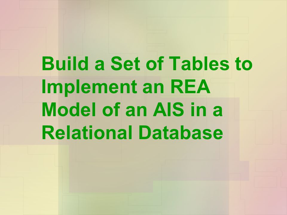 Chapter 5: Data Modeling and Database Design