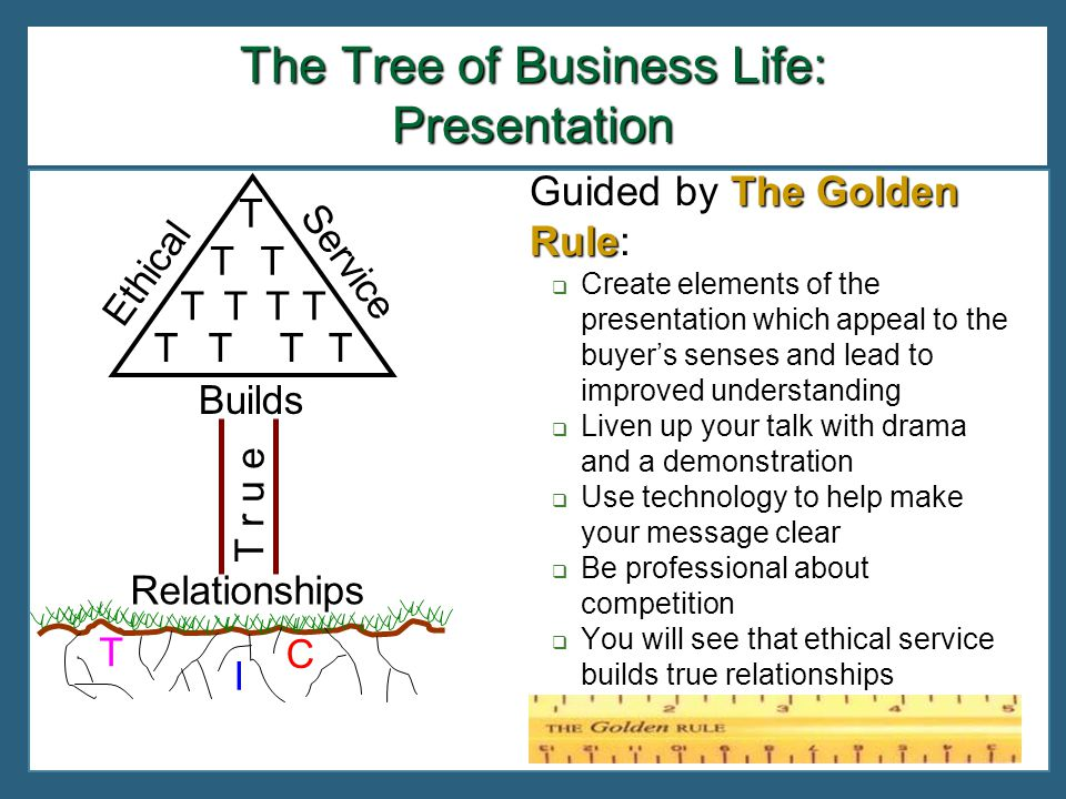 The Tree of Business Life: Presentation