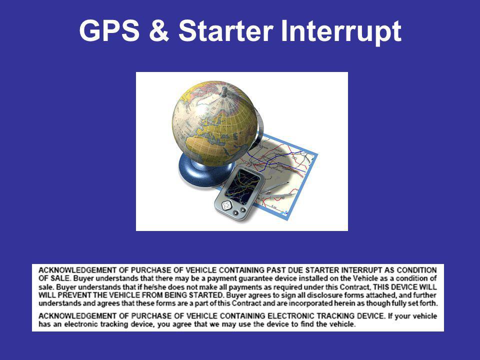 GPS & Starter Interrupt