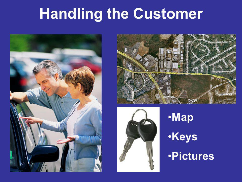 Handling the Customer Map Keys Pictures