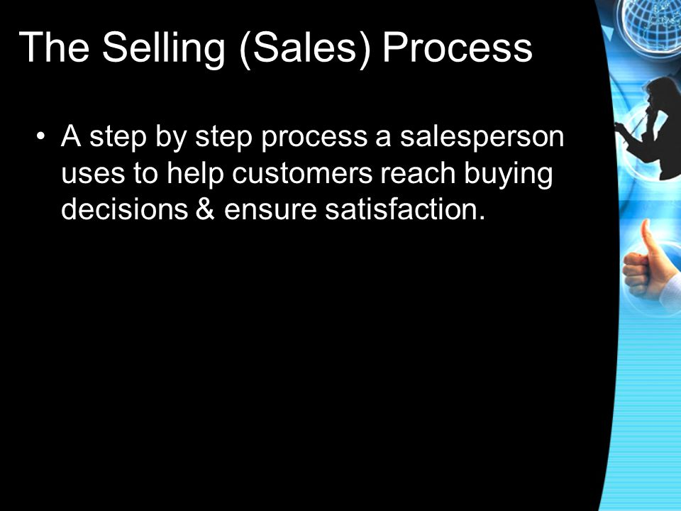 The Selling (Sales) Process