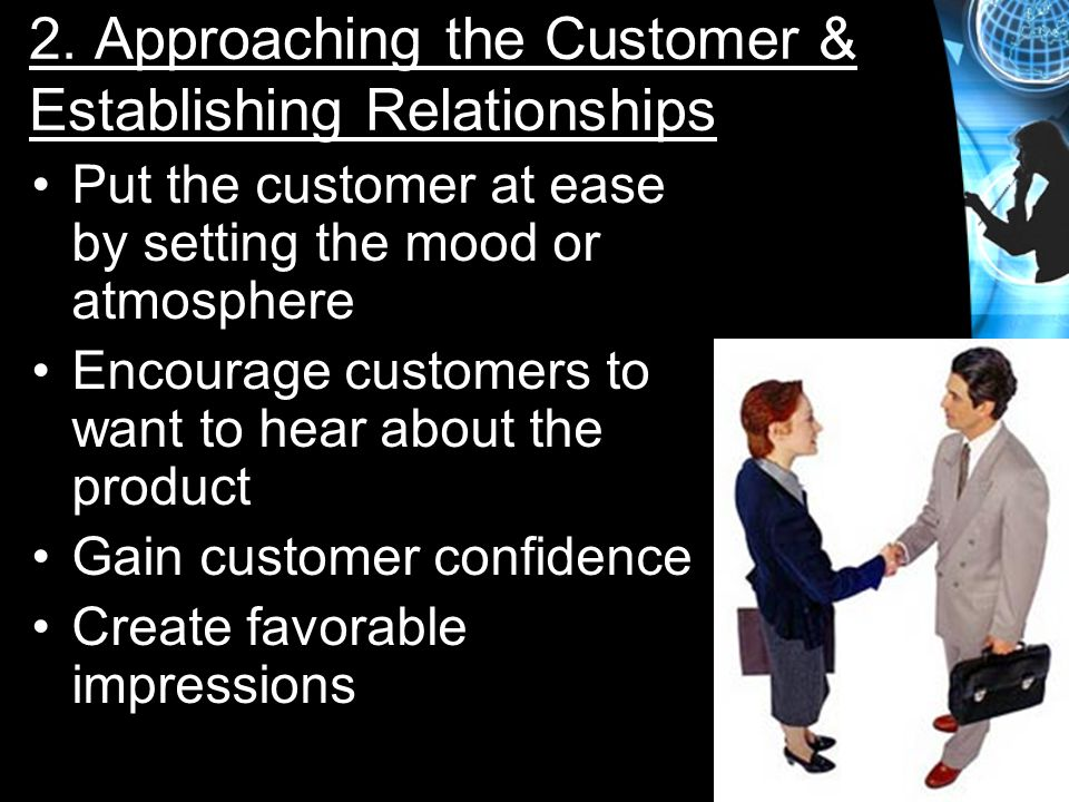 2. Approaching the Customer & Establishing Relationships