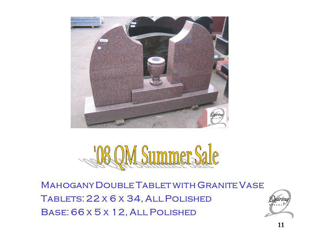 Mahogany Double Tablet