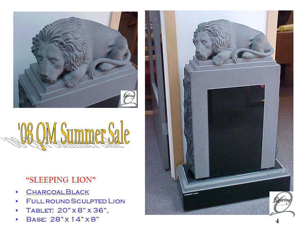 Sleeping Lion Custom Sculpture