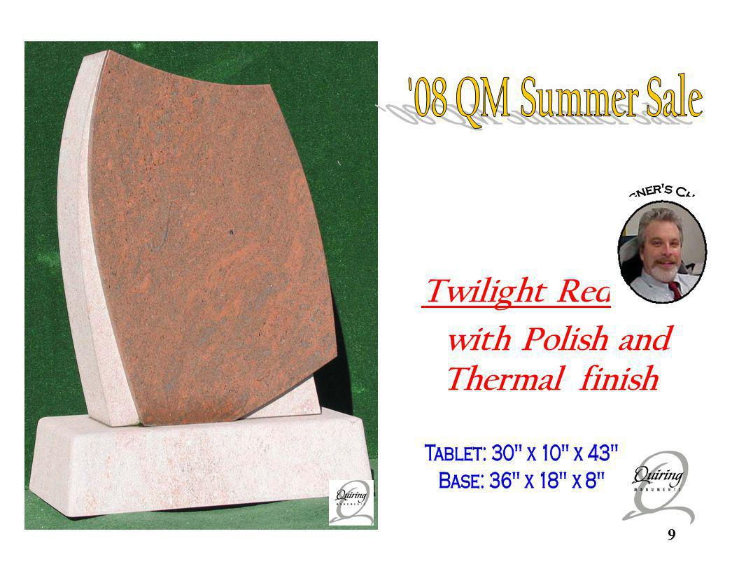 Twilight Red custom 08 QM Summer Sale Twilight Red