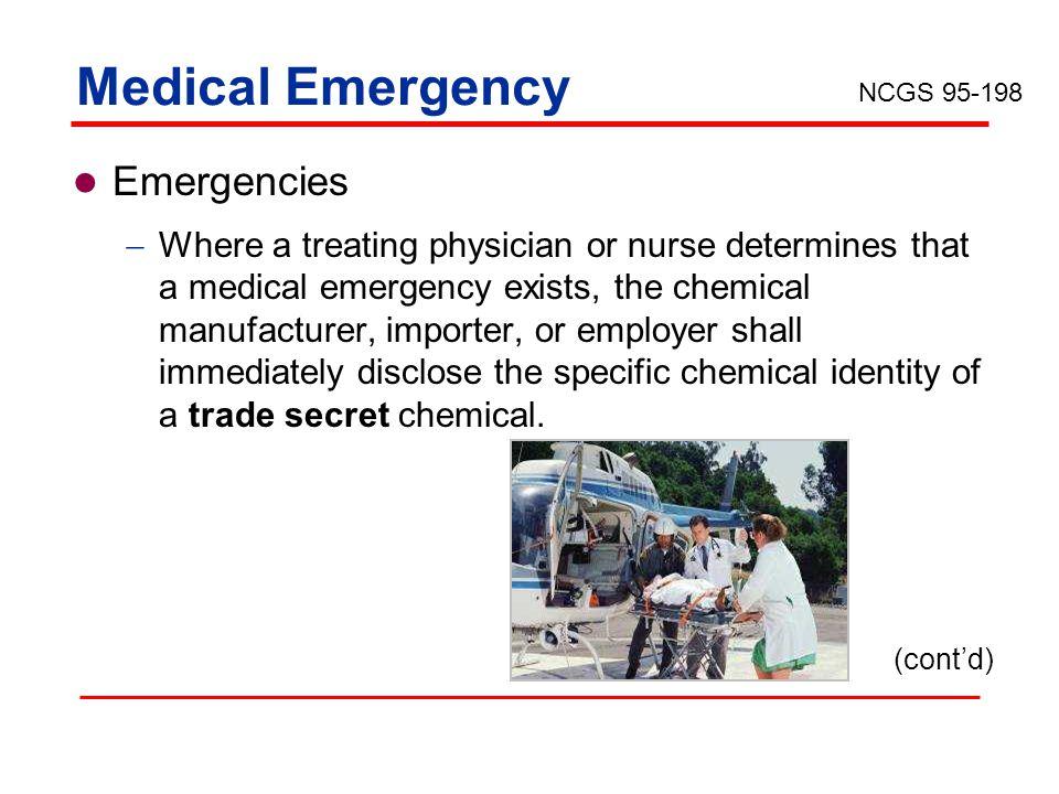 Medical Emergency Emergencies