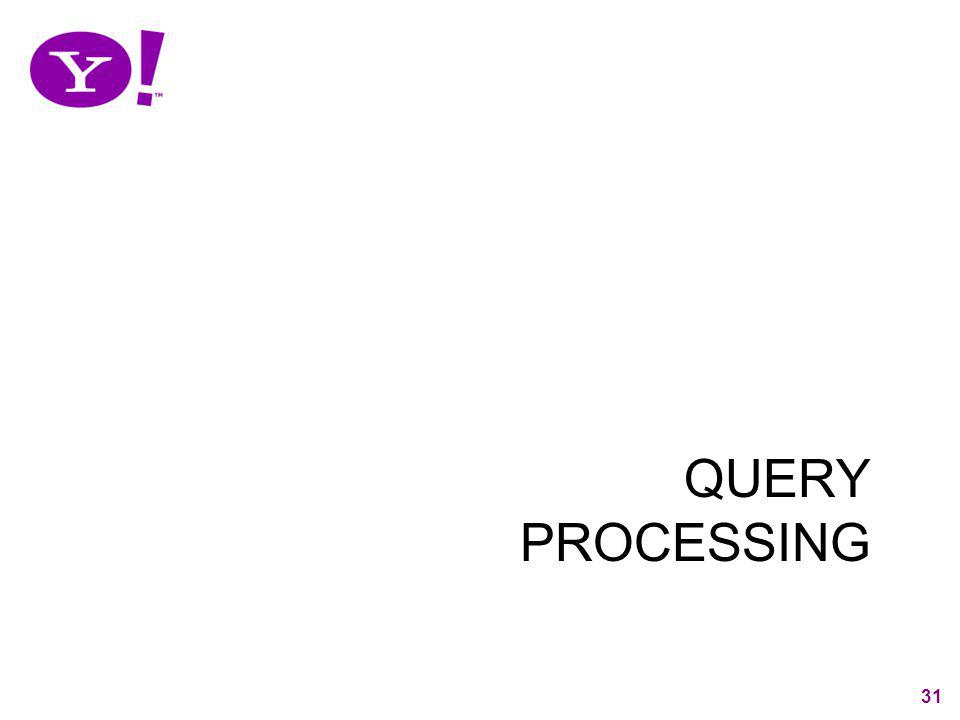 QUERY PROCESSING 31