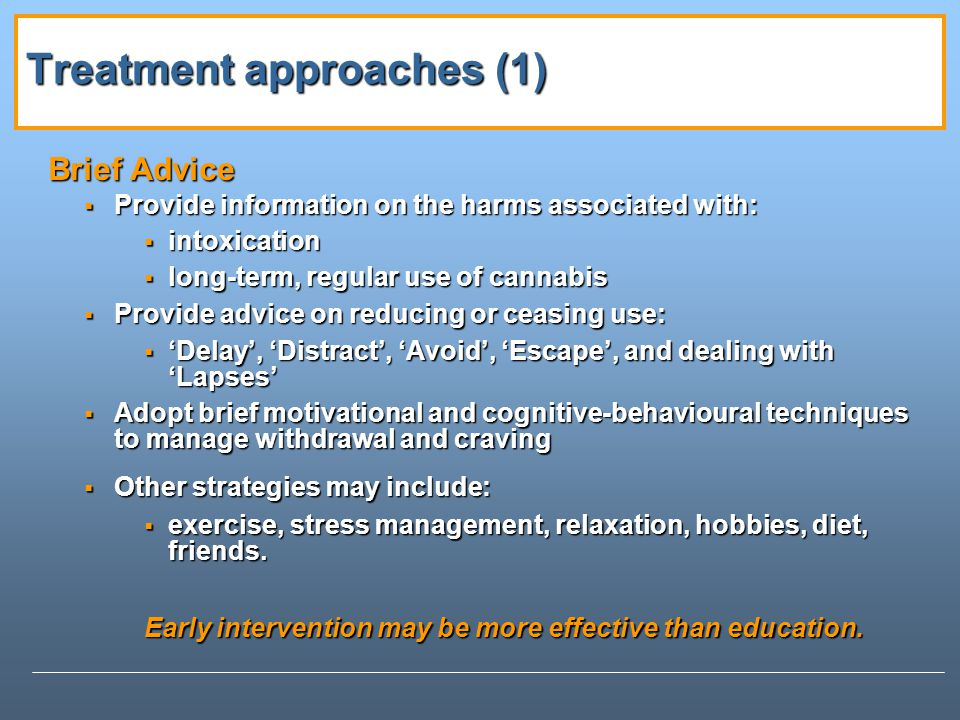 Treatment approaches (1)