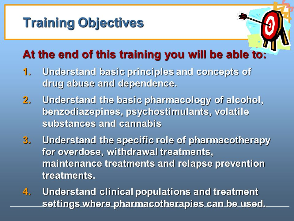 Training Objectives At the end of this training you will be able to: