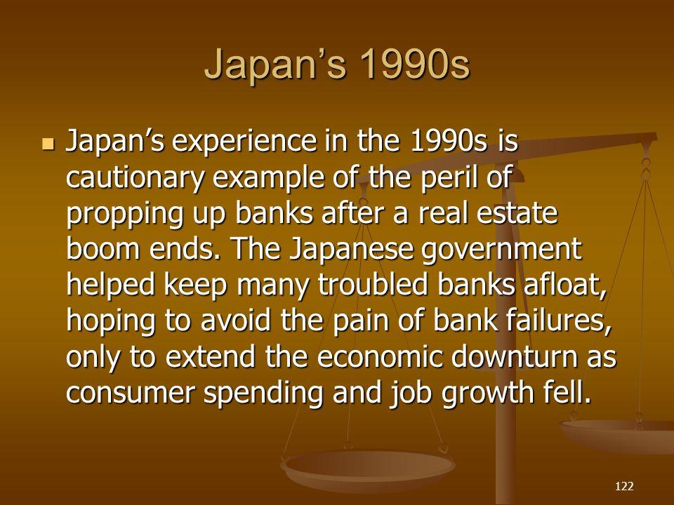 Japan's 1990s