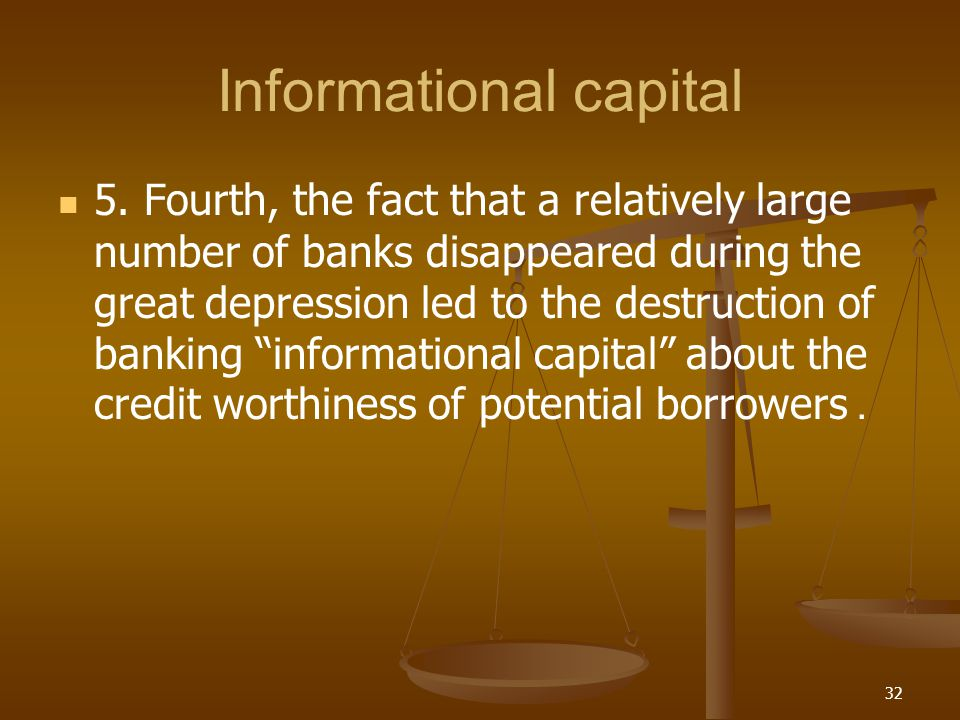 Informational capital