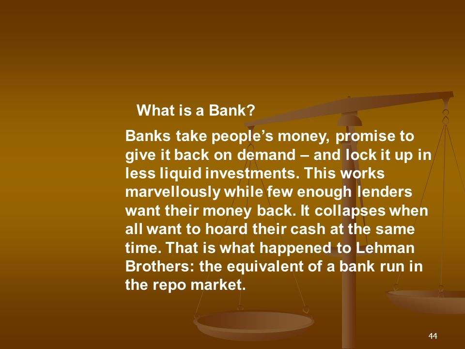 What is a Bank