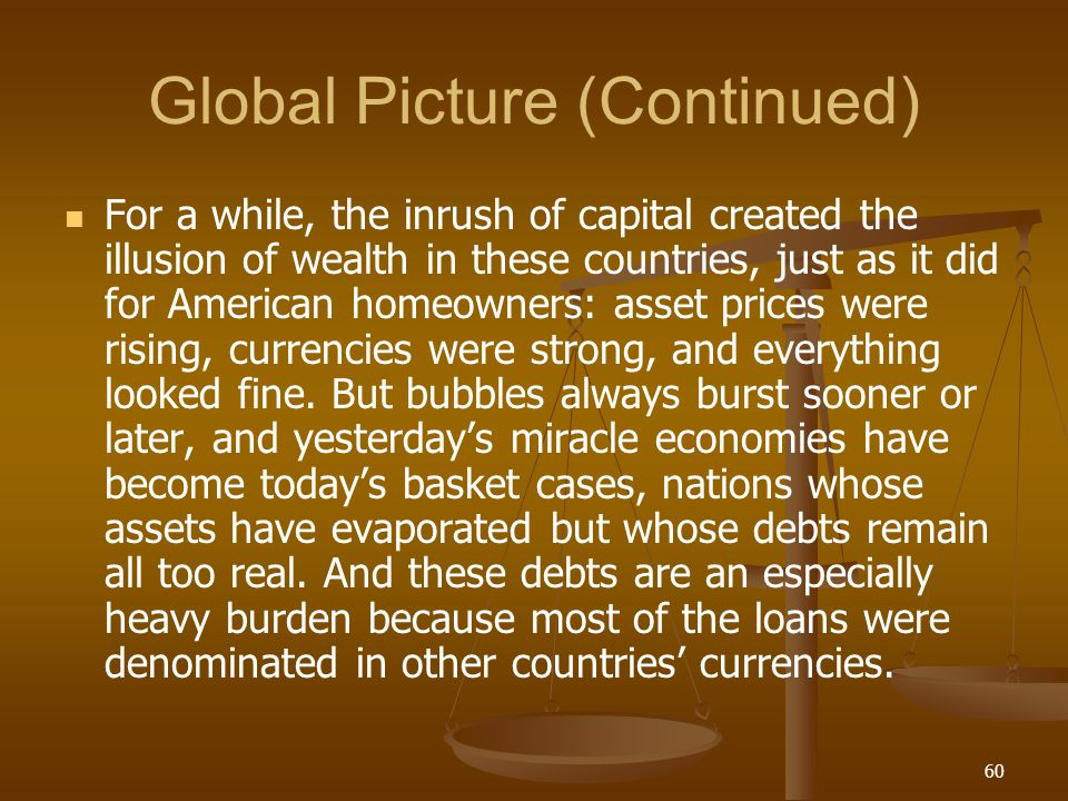 Global Picture (Continued)