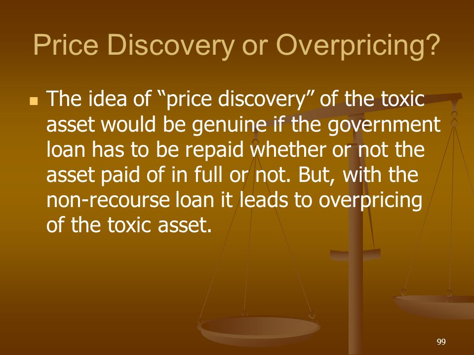Price Discovery or Overpricing