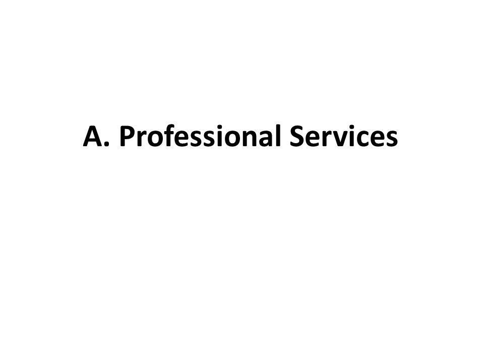 A. Professional Services