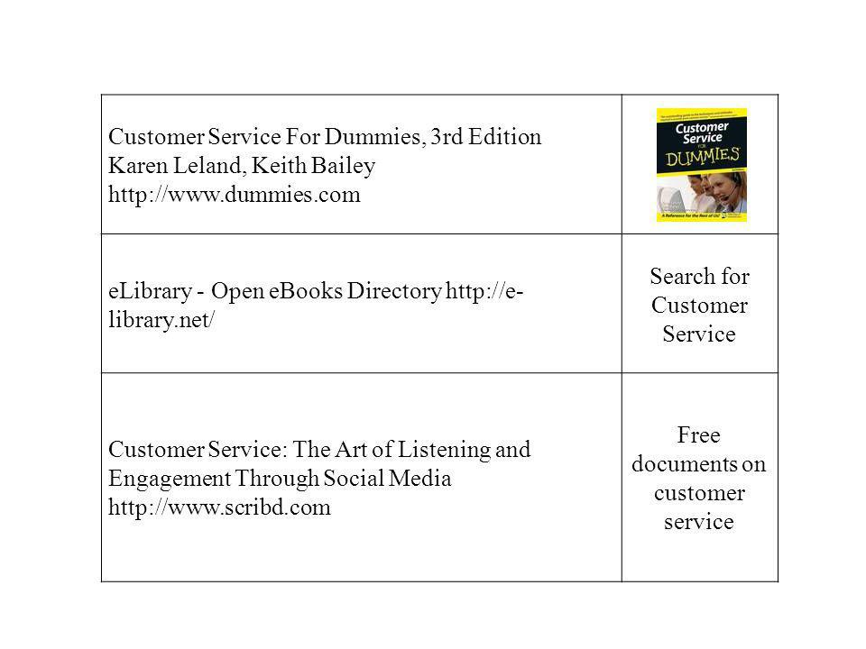 Customer Service For Dummies, 3rd Edition