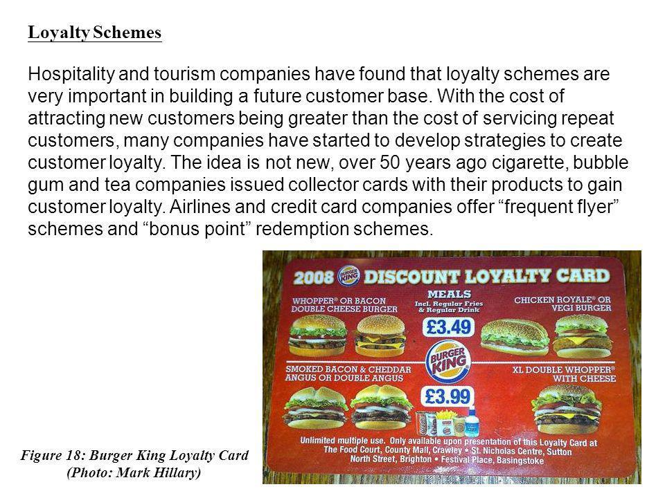 Figure 18: Burger King Loyalty Card
