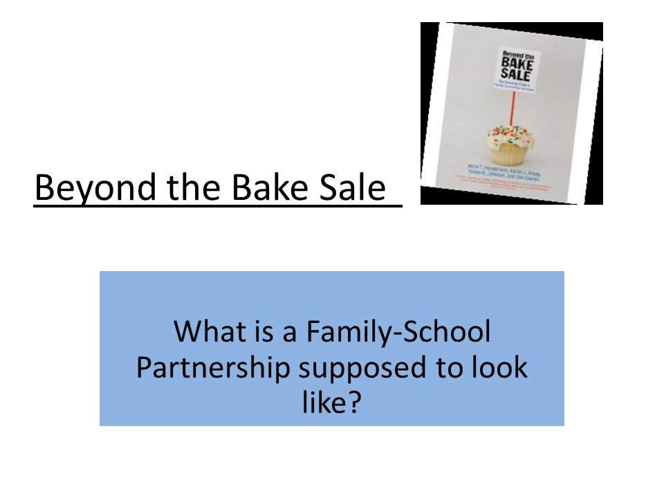 What is a Family-School Partnership supposed to look like