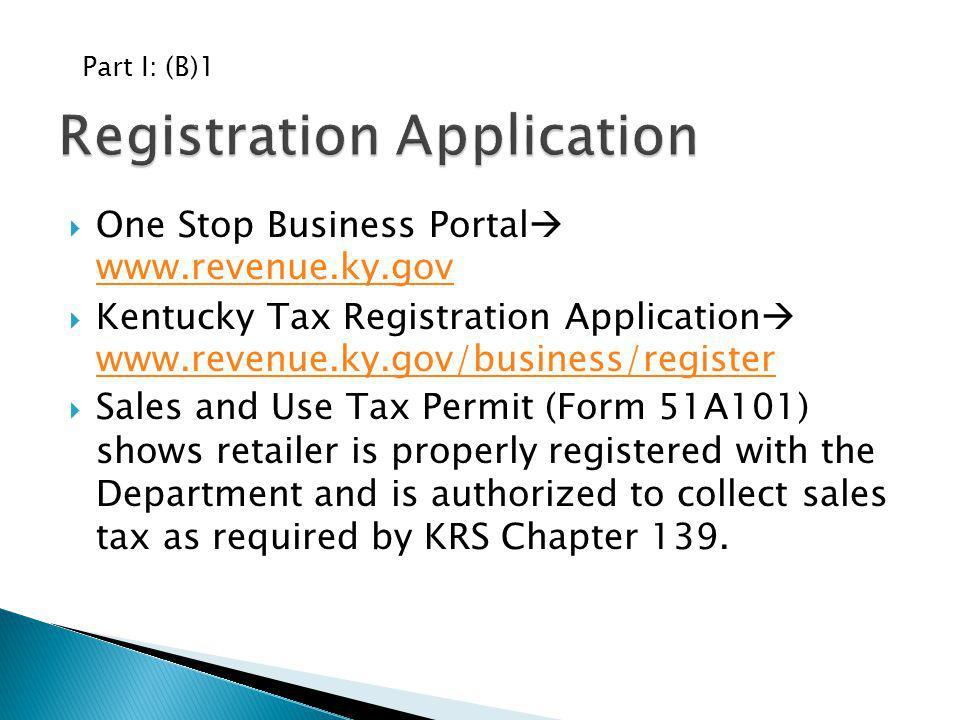 Registration Application