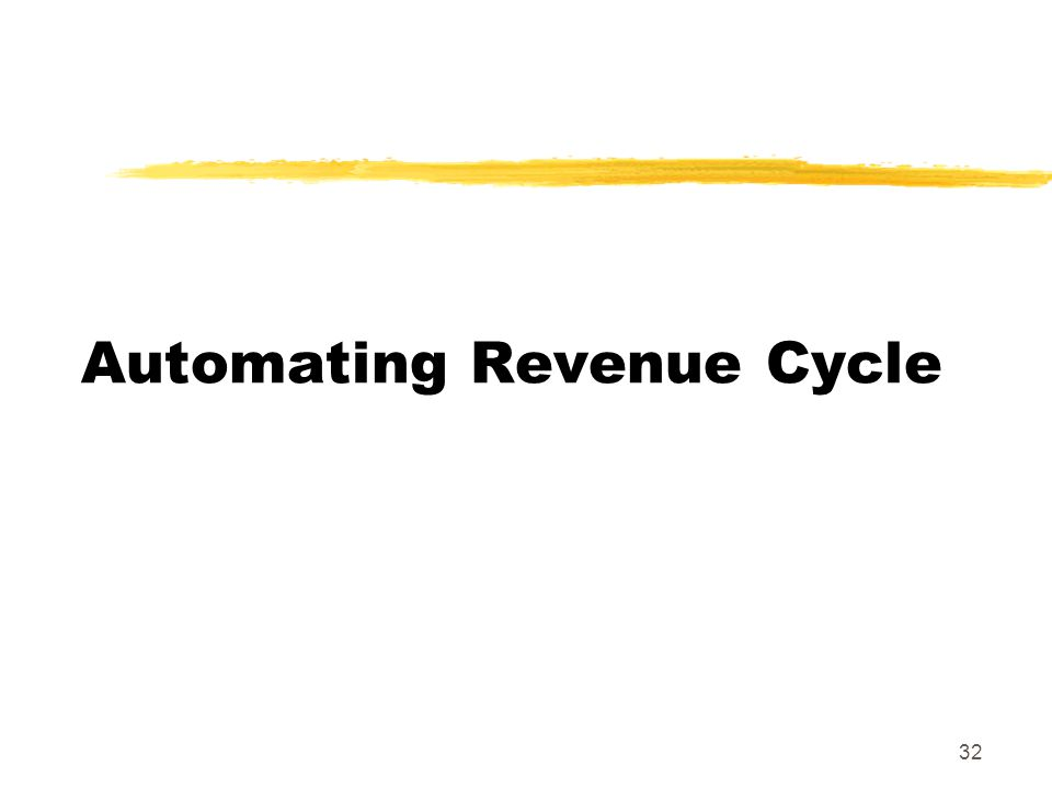 Automating Revenue Cycle