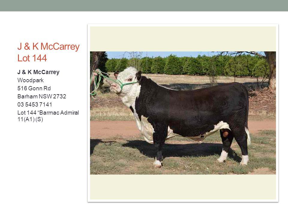 J & K McCarrey Lot 144 J & K McCarrey Woodpark 516 Gonn Rd