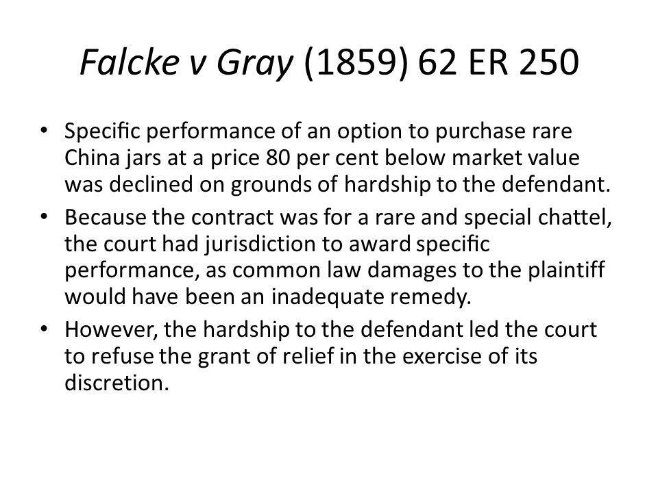 Falcke v Gray (1859) 62 ER 250
