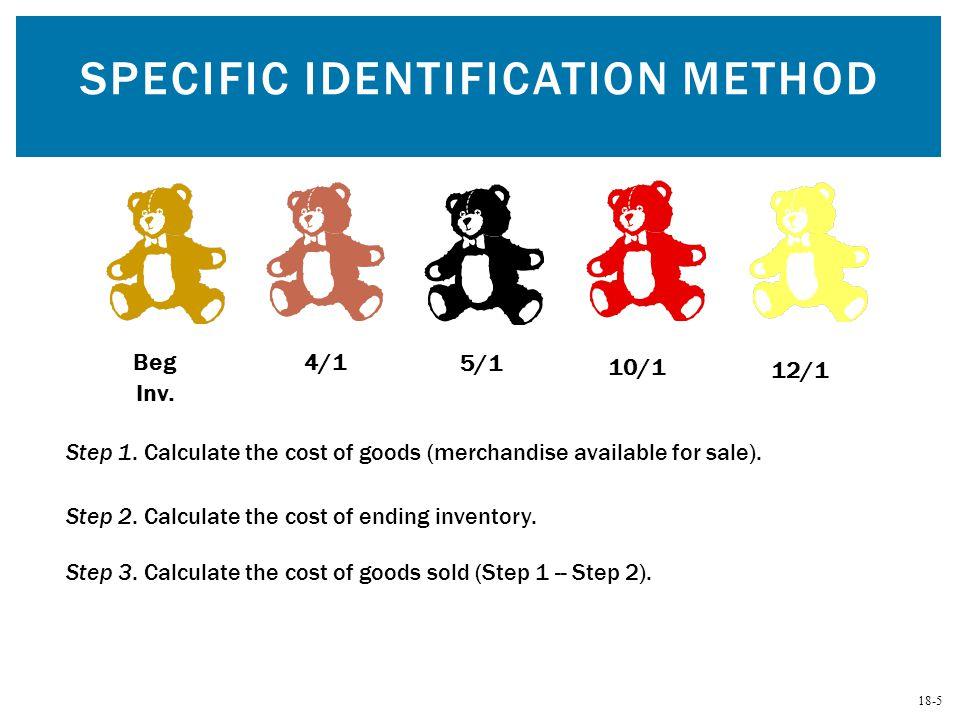 Specific Identification Method
